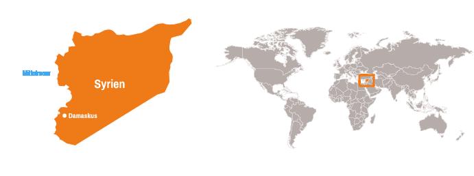Syrien Karte 2016.Syrien Open Doors Deutschland E V