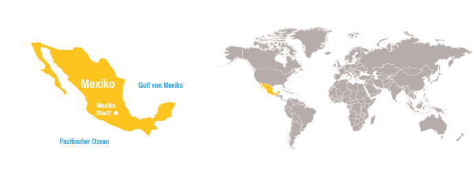 Mexiko Karte Welt.Mexiko Open Doors Deutschland E V