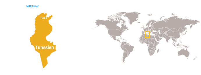 Tunesien Karte Welt.Tunesien Open Doors Deutschland E V