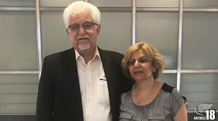 Pastor Victor Bet-Tamraz und seine Frau Shamiram