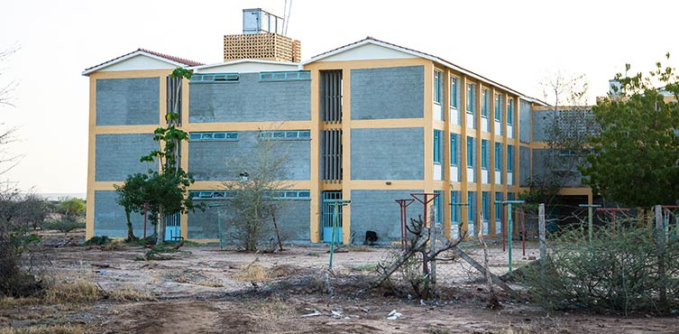 Campus der Universität in Garissa