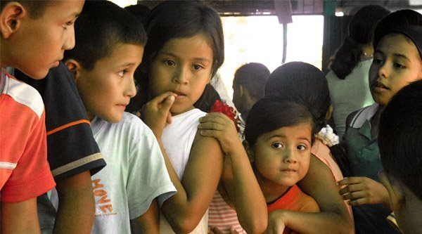 kolumbianische Kinder