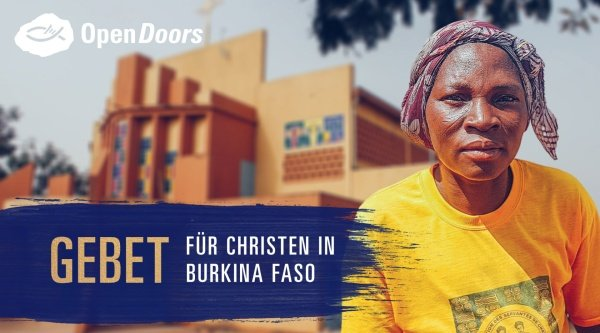 Gebet für Christen in Burkina Faso