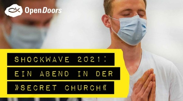 "SHOCKWAVE 2021: Ein Abend in der ""Secret Church"""
