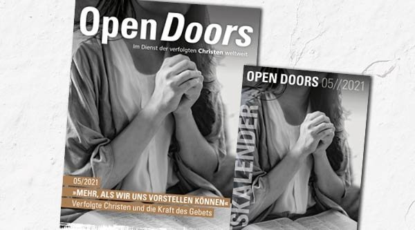 Cover Open Doors Magazin Mai 2021