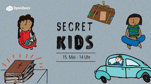 SECRET KIDS - Trailer zum Open Doors Kindertag 2021