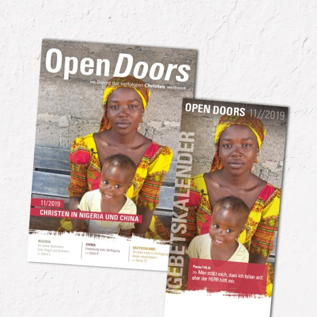 Open Doors Monatsmagazin November 2019