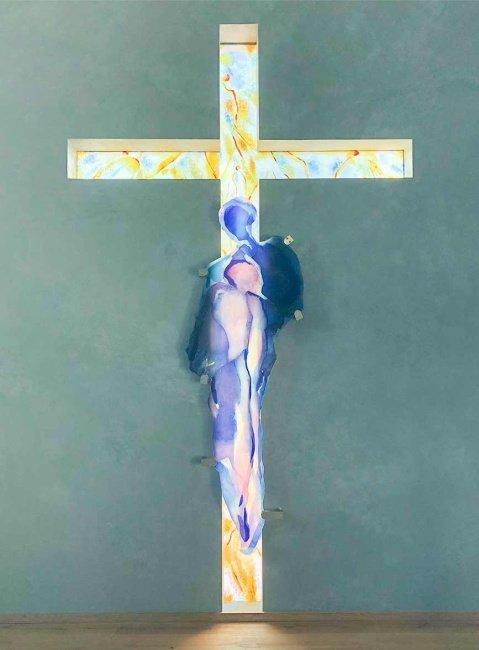Fenster Gebetshaus Kreuz
